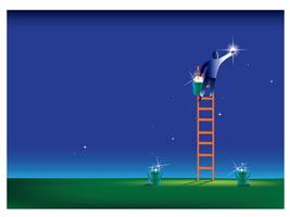 dream ladder, star