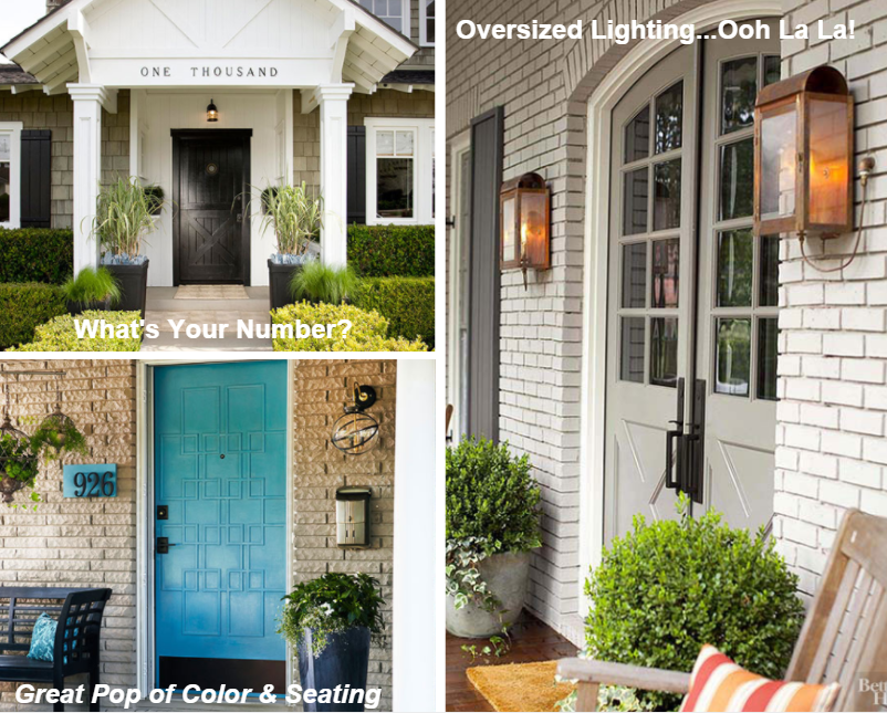 Front Door Styling For Excellent Curb Appeal The Domis Team Real